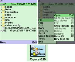 Xplore symbian